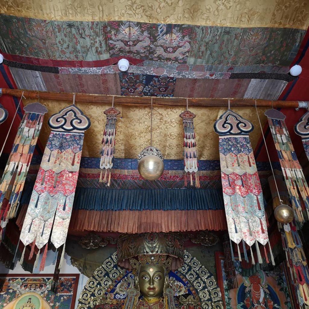Temple boudhisme Mongolie Catherine Le mhen