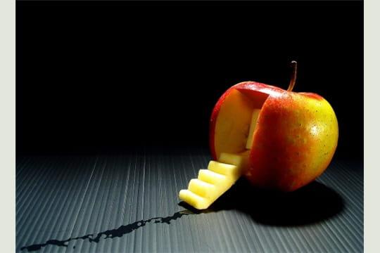 le ver dans la pomme